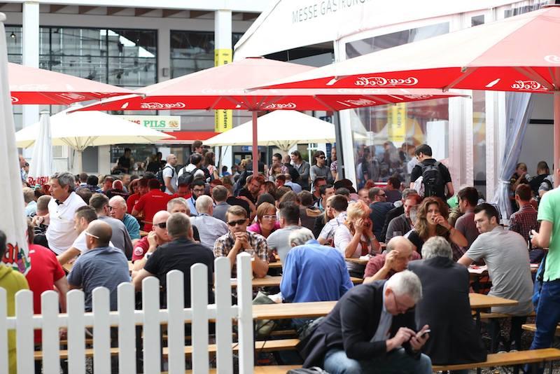 eurobike beer garden
