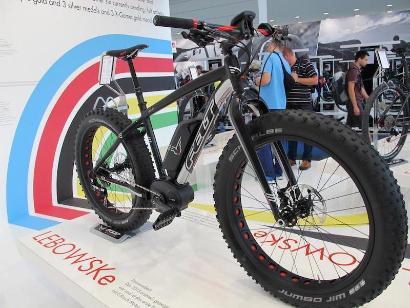felt lebowske electric fat bike
