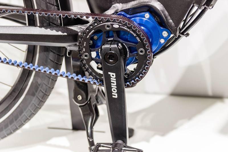 gates belts grace electric bike eurobike