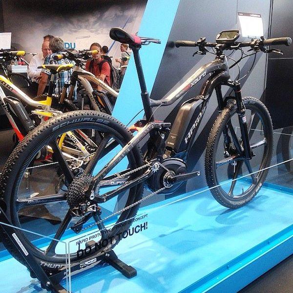 haibike carbon fiber electric mountain bike bosch