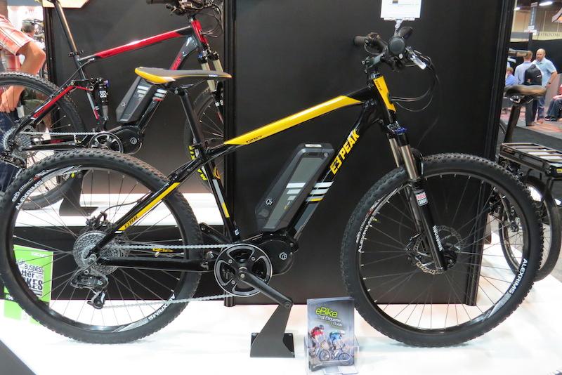 izip e3 peak electric bike