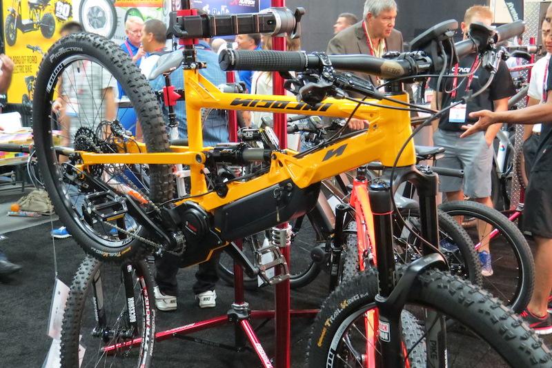 nicolai eboxx electric bike side