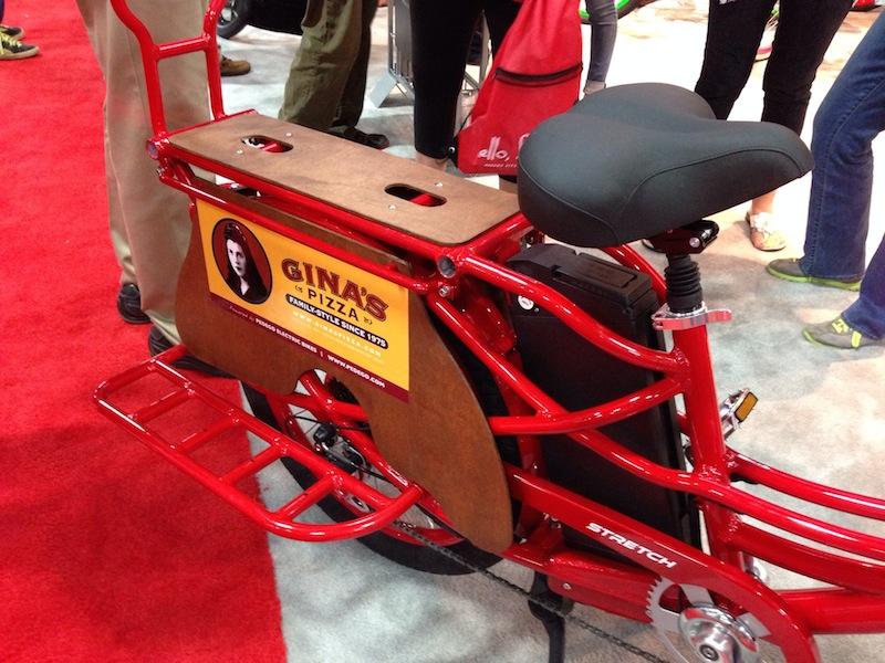 pedego stretch electric cargo bike area