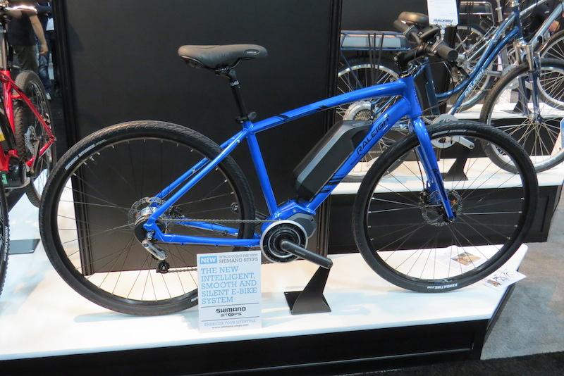 raleigh misceo electric bike
