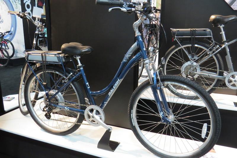 raleigh venture electric bike