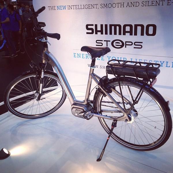 shimano steps mid drive eurobike