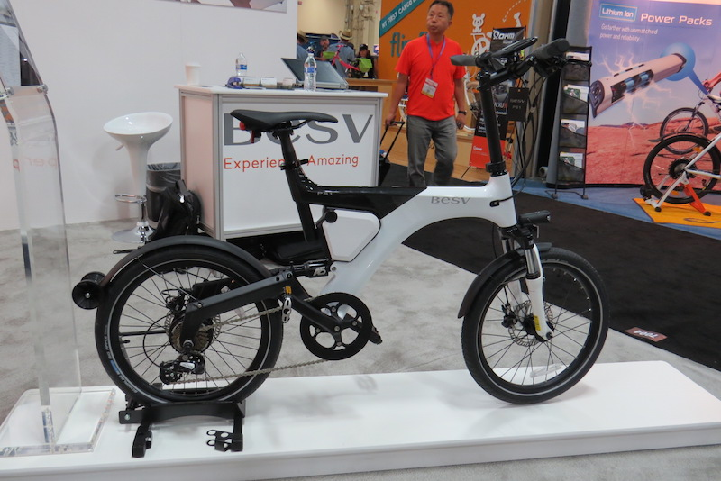 BESV Pather PS1 electric bike side
