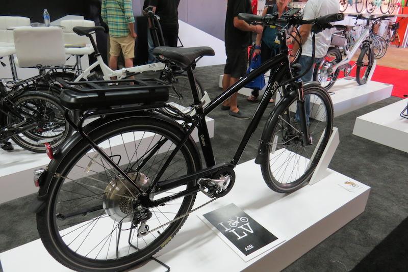 a2b galvani electric bike side