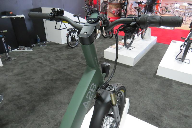 a2b octave electric bike display