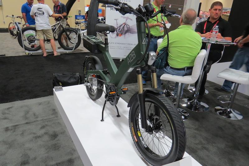 a2b octave electric bike side