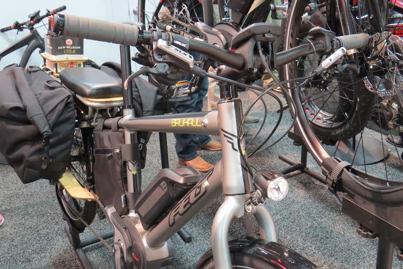 felt bruhaul electric cargo bike handlebars