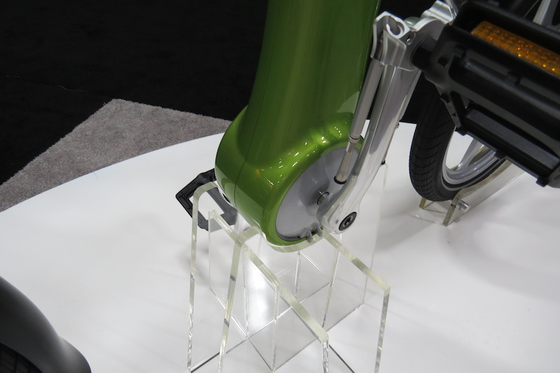 mando footloose electric bike cranks