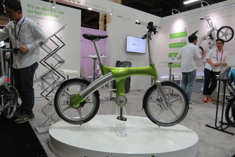 mando footloose electric bike