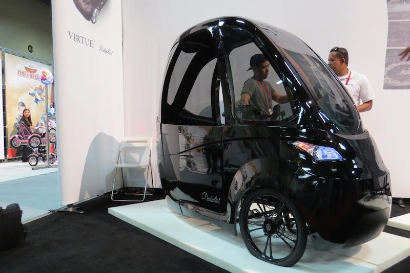 virtue pedalist electric trike side