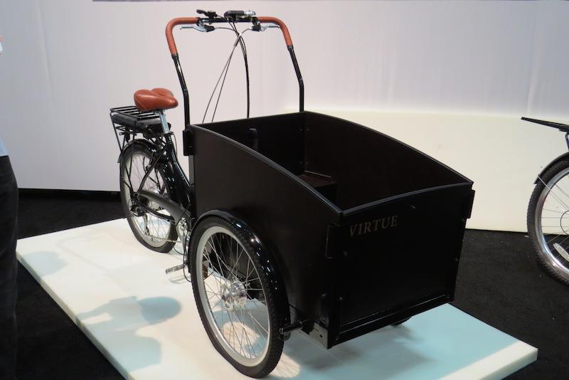 virtue schoolbus electric cargo bike side