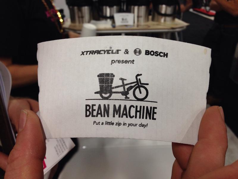 xtracycle bosh edgerunner electric cargo bike bean machine
