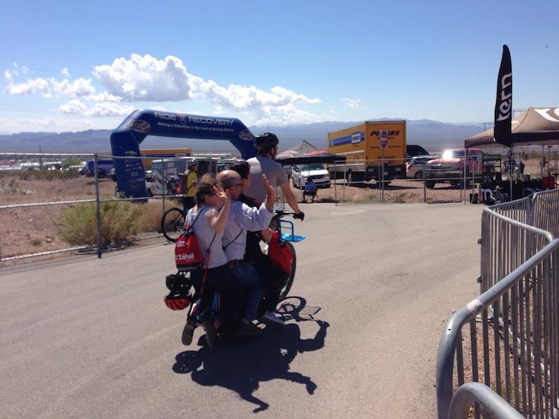 xtracycle bosh edgerunner electric cargo bike riding