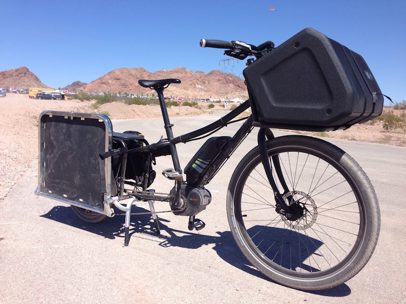 Xtracycle Edgerunner 10e Bosch Electric Cargo Bike Video Pics