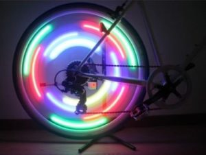 flashing bike wheel reflector