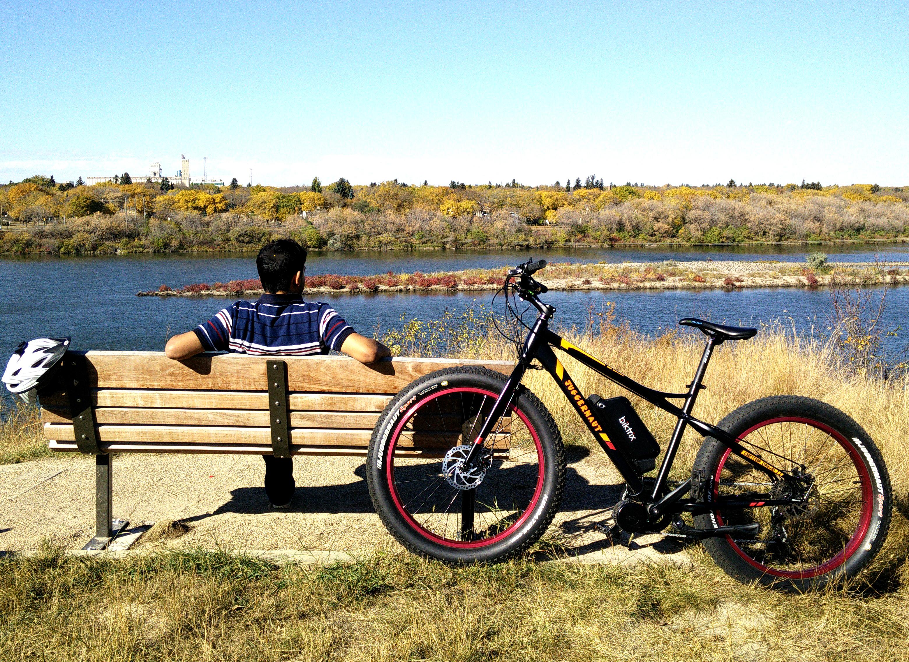 Juggernaut fat electric bike 1