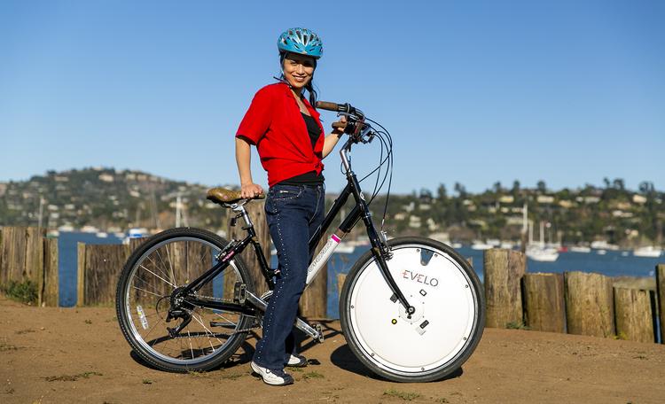 EVELO Omni Wheel bike