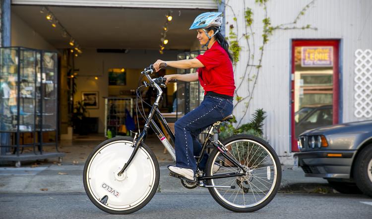 Omni Wheel bike