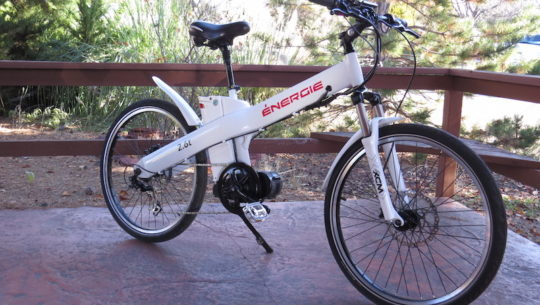 Energie Cycles 2.6td Electric Bike Video, Pictures, & Specs