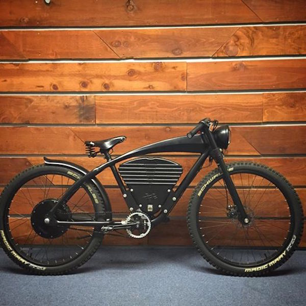 vintage e-tracker electric bike special edition