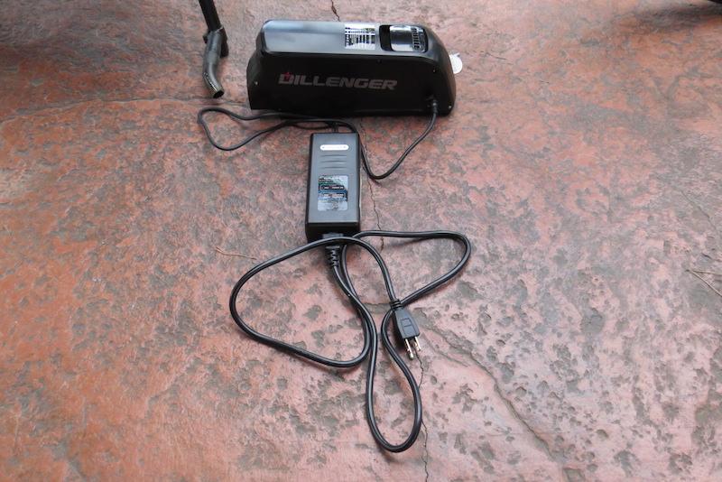 Dillenger Bafang battery charger