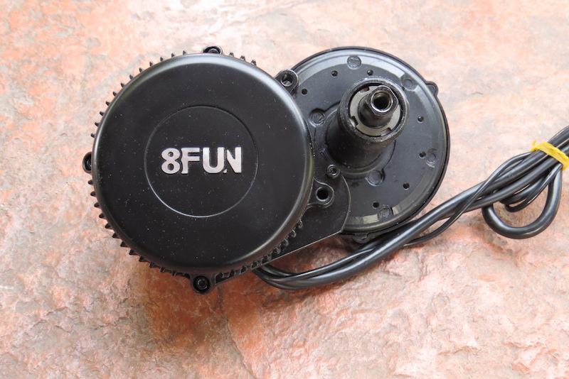 Dillenger Bafang motor uninstalled