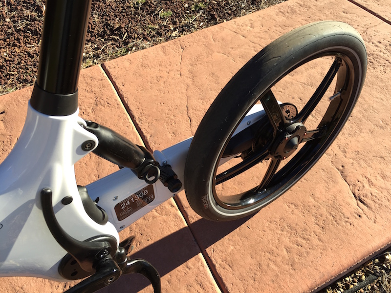 Gocycle rear swing arm