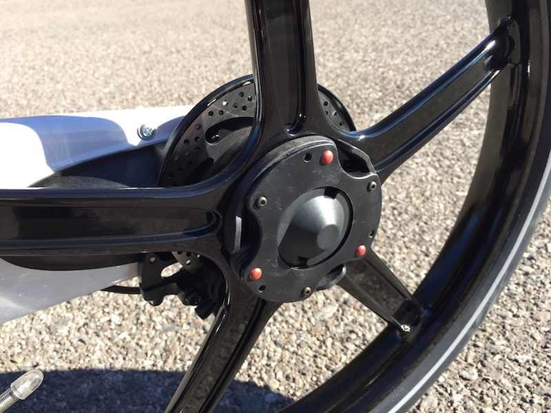 Gocycle rear wheel