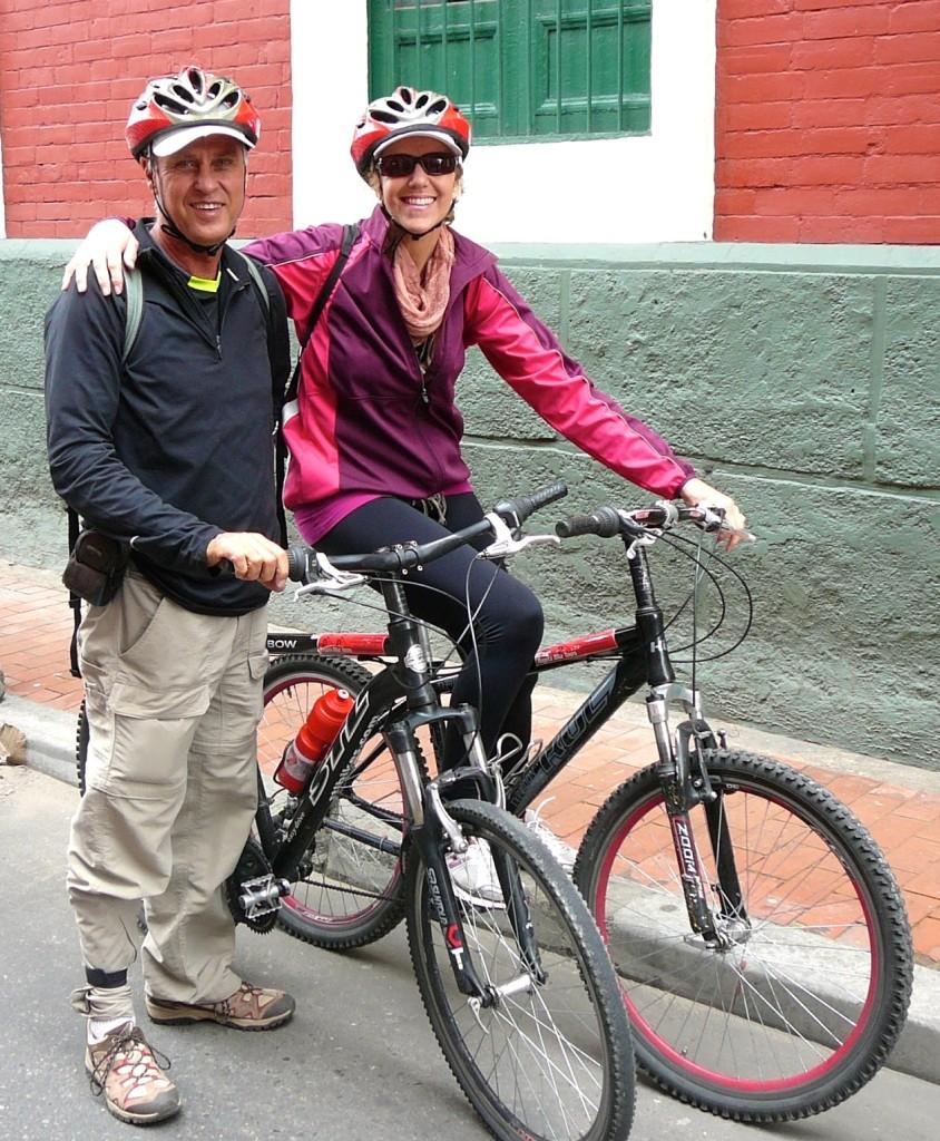 the E-Bike Cycle Tourists