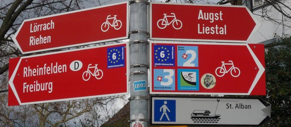 electric bike touring route