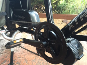 Dillenger Bafang mid drive electric bike kit