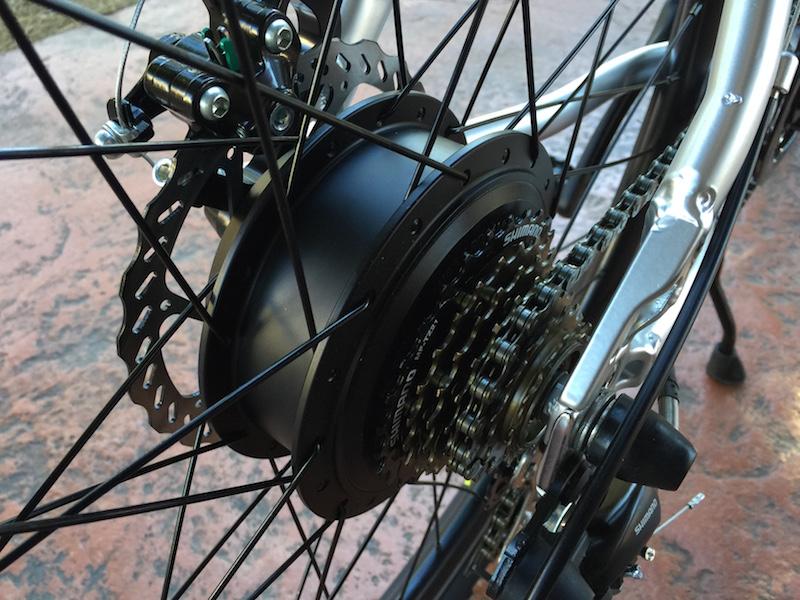 GenZe Sport electric bike motor