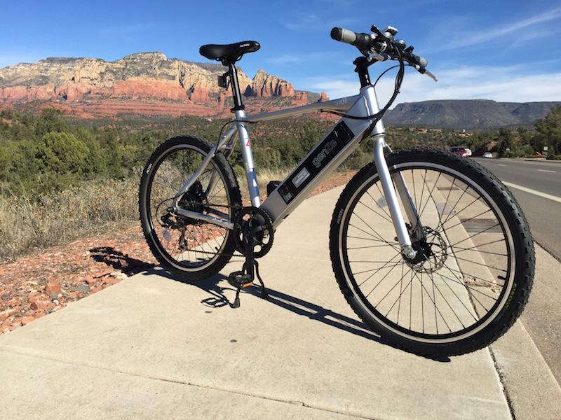 GenZe Sport electric bike profile