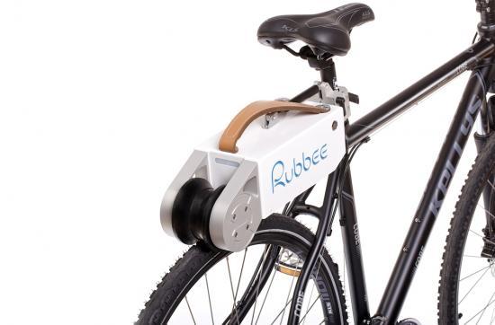 Rubbee electric bike friction drive