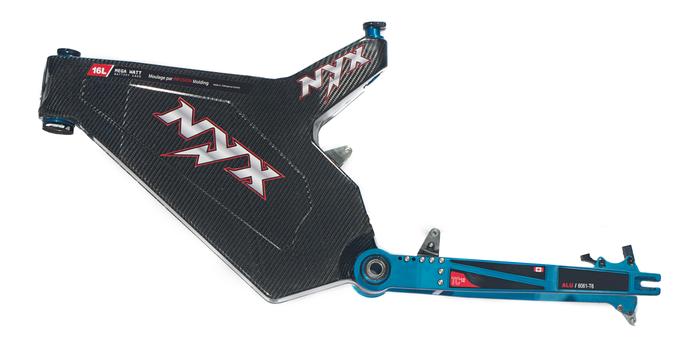 NYX electric bike frame