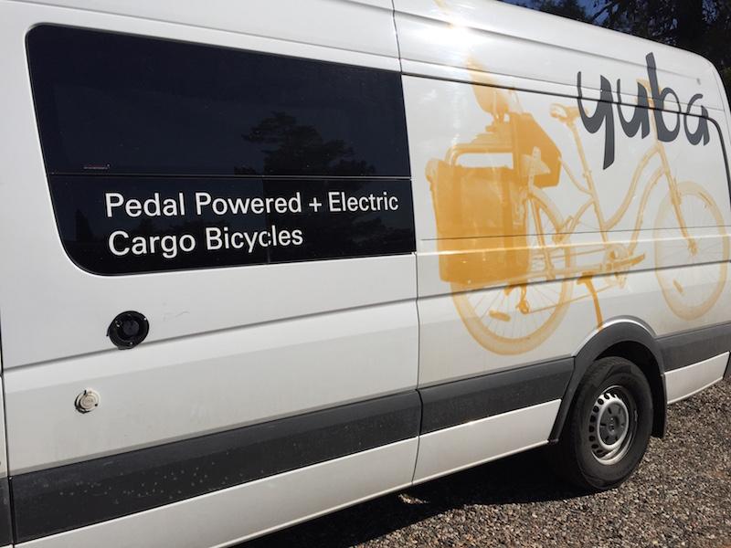 Yuba cargo bike van