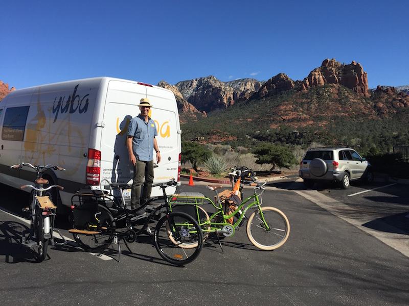 Yuba cargo bikes sedona