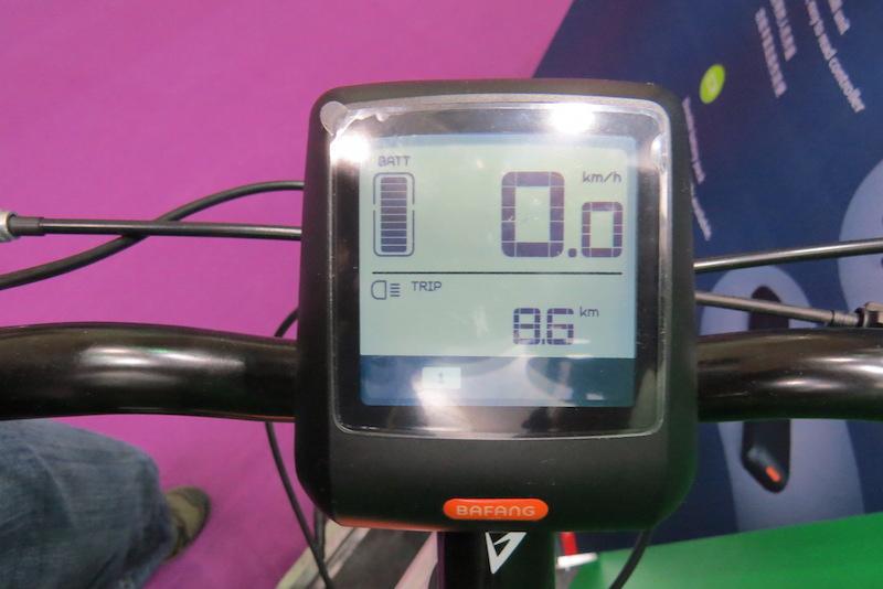 bafang max display
