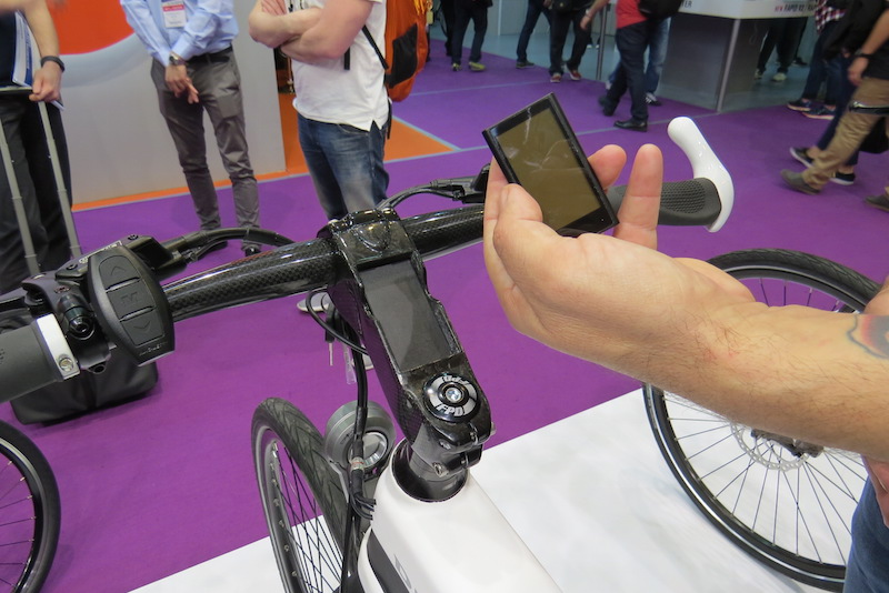 diavelo carbon electric bike display removed