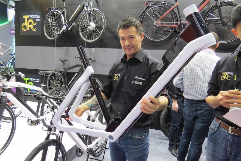 diavelo carbon electric bike step thru frame