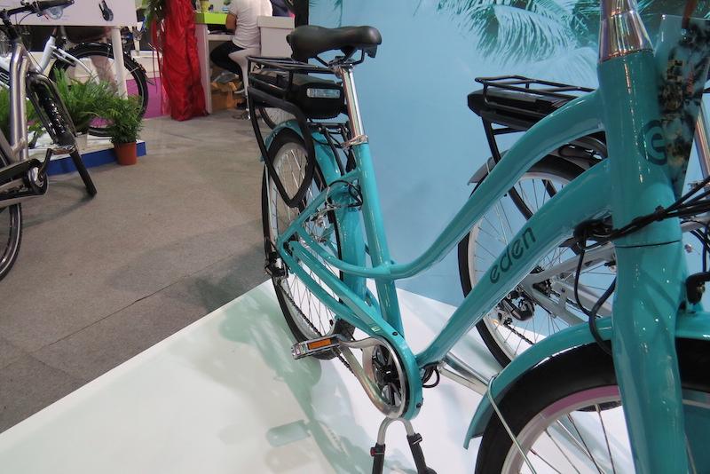 eden electric bike frame