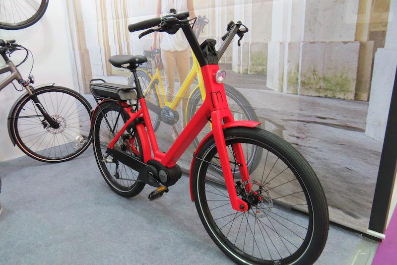 moustache electric bike city