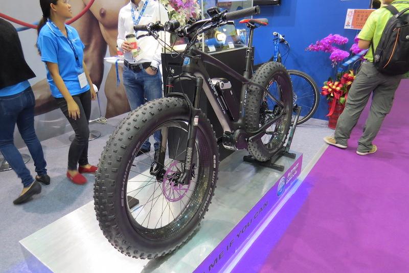 mpf fat carbon electric bike