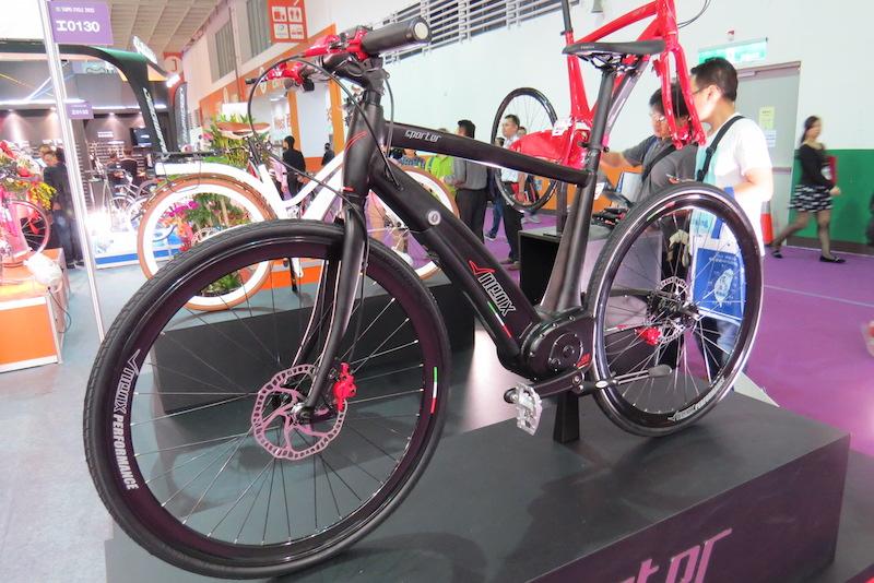 neox electric bike race