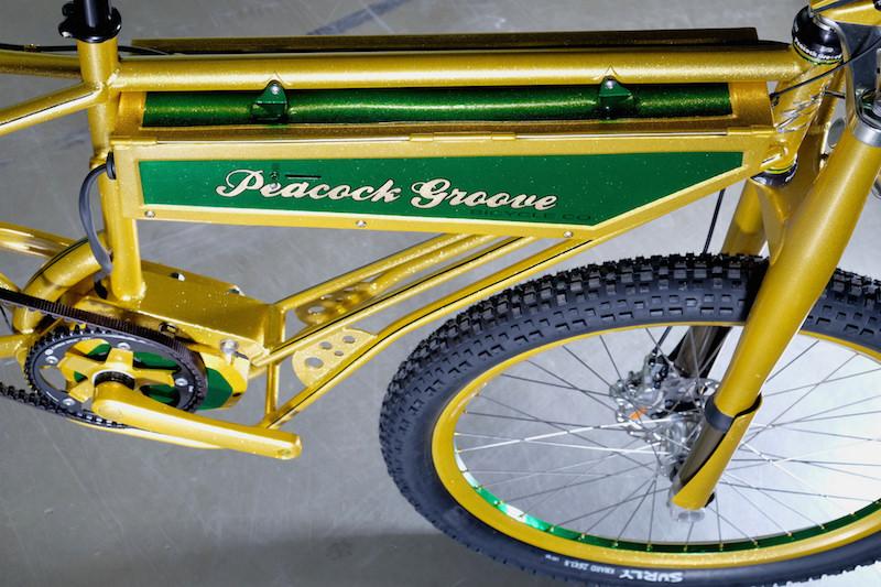 peacock groove electric bike battery