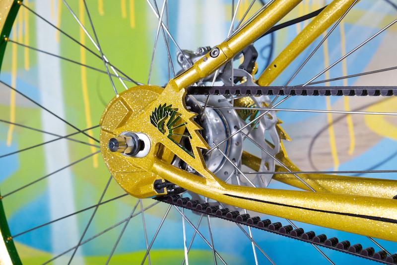 peacock groove electric bike belt